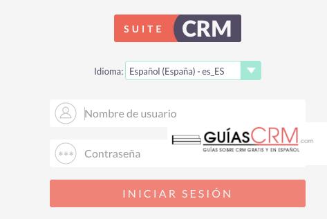 Cómo traducir SuiteCRM al idioma español